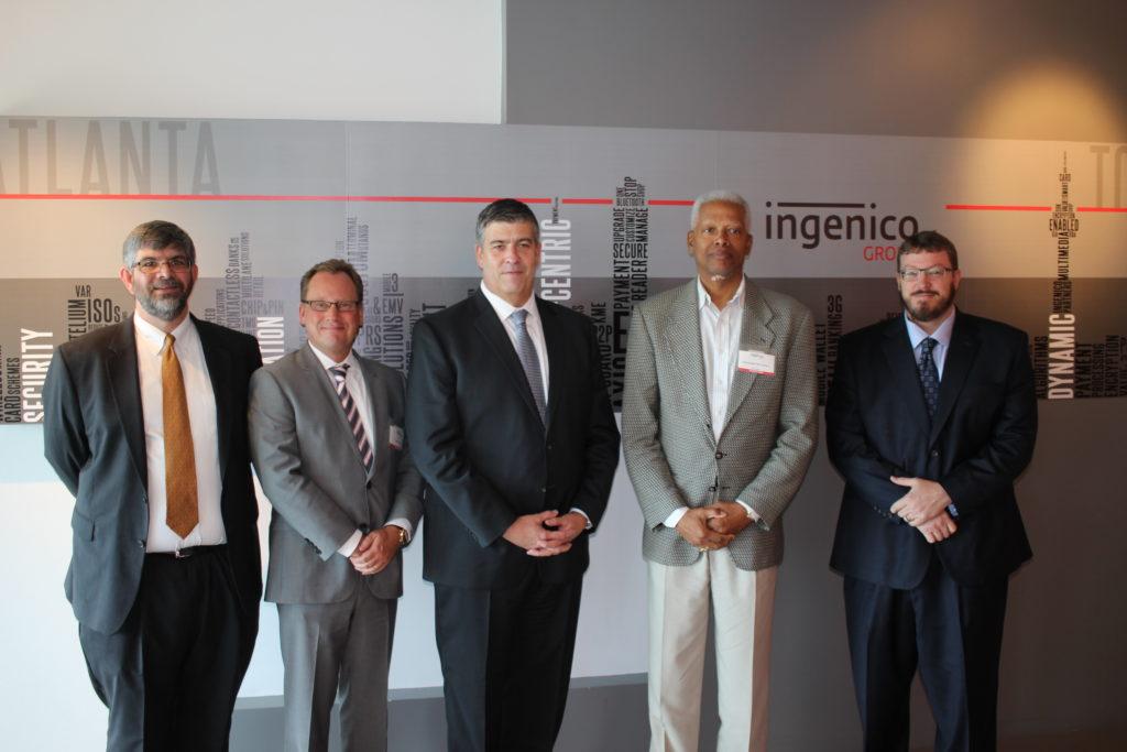 Rep. Hank Johnson Visits ATPC Members Elavon and Ingenico