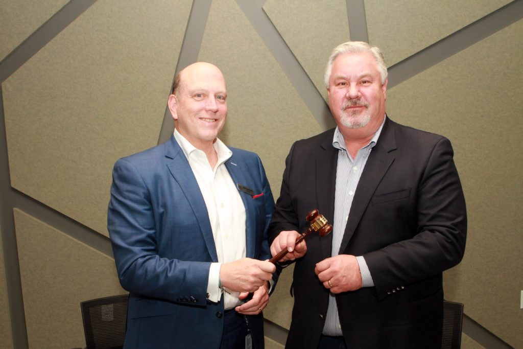ATPC Chairmanship Transitions from Bruce Lowthers to Royal Cole