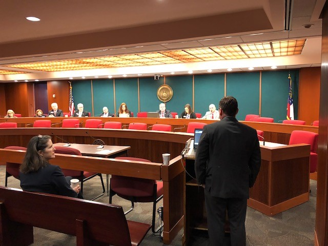ATPC Team Presents to Georgia House Economic Development and Tourism Committee